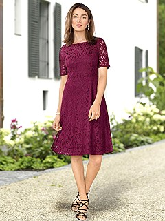 Lace Overlay Dress product image (383787.9)