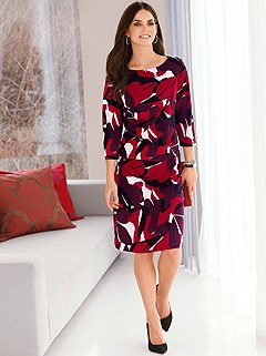 Abstract Print Dress product image (384740.8)