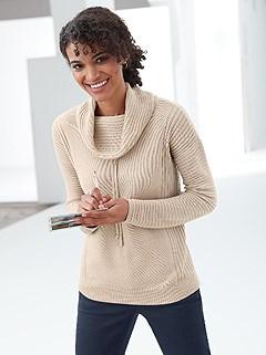 Drawstring Turtleneck Sweater product image (385948.EC.1.1_WithBackground)