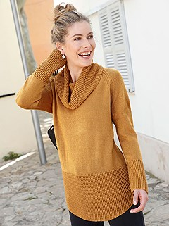 Cowl Neck Sweater product image (386784K)