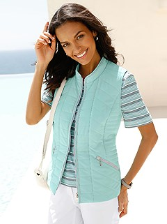 Quilted Panel Sleeveless Vest product image (390280.MT.1.1_WithBackground)