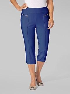Zipper Detail Capri Pants product image (390285.RY.1)