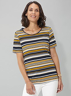Stripe Top product image (390318.YLST.SS.1)