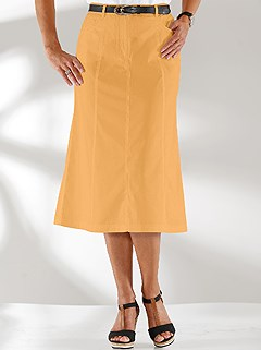 Panel Denim Skirt product image (390320.YL.1)