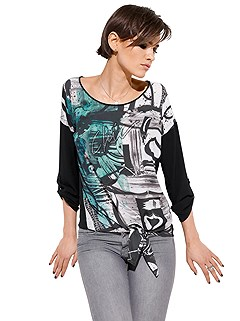 Mix Pattern Blouse product image (390940.ECPR.1)