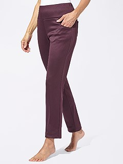 Shimmer Stretch Pants product image (392710.FS.3.9_WithBackground)