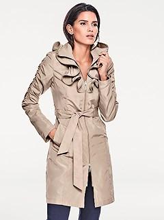 Ruffle Detail Jacket product image (392845.BE.1)