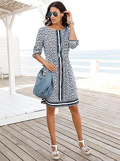 Mix Print Dress product image (393330.BLPA.1)
