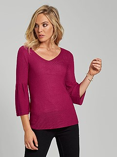 Silk Knit Sweater product image (395123.RD.2)
