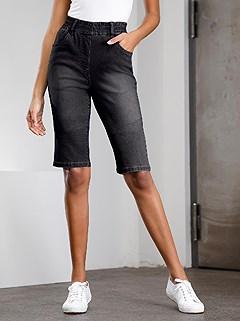 Denim Bermuda Shorts product image (395298.BKDE.1.2_WithBackground)