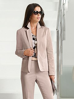 Single Button Blazer product image (395397.POWD.2.M)