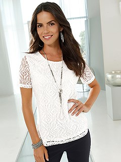 Lace Overlay Top product image (395478.EC.1)