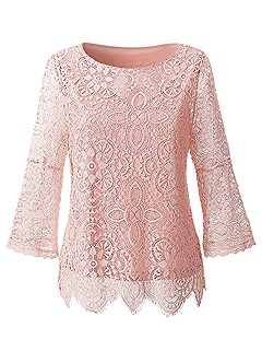 Lace Overlay Top product image (395615.RS.1)