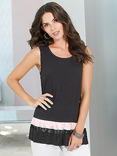 A-Line Sleeveless Top product image (395687.BKRS.1)