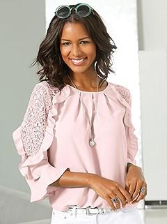 Lace Shoulder Blouse product image (395709.RS.1)
