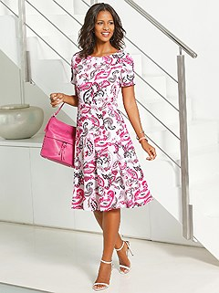 Paisley Midi Dress product image (395779.ECPA.1)