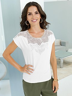 Lace Dropped Shoulder Top product image (396249.EC.2.10_WithBackground)
