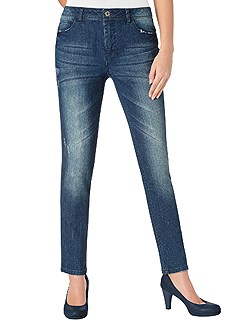 Wash Effect Jeans product image (397891.BLUS.01)