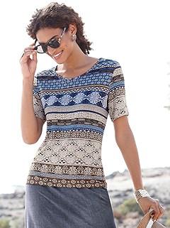 Boho Short Sleeve Top product image (397913.NVPR.1P)