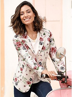 Viennese Seam Floral Pattern Jacket product image (398159.RSPR.2.11-S)
