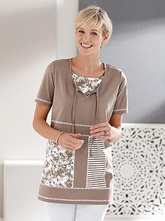 Patchwork Design Tunic product image (398820.TP.2.1_WithBackground)