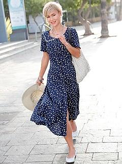 Button Up Floral Dress product image (398958.NVMU.1)