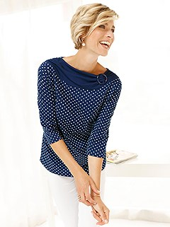 Polka Dot Print Top product image (401531.NWDT.2.1_WithBackground)