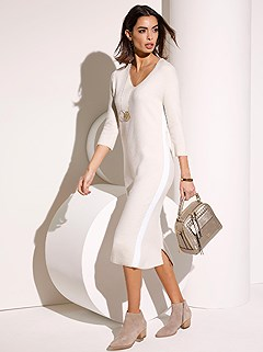 Knitted Midi Dress product image (405920.BEMO.1.2)