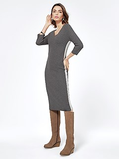 Knitted Midi Dress product image (405920.GYMO.3.2)