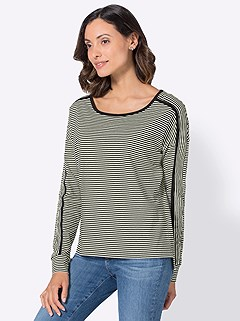 Longesleeve Striped Top product image (406171.BKST.4.1_WithBackground)
