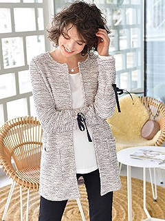 Open Style Long Cardigan product image (406239.RSNV.1.2)