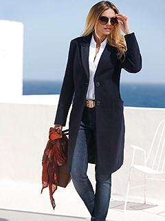 Rever Collar Coat product image (406790.NV.1.2)