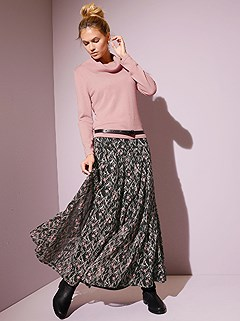 Floral Maxi Skirt product image (406824.RSPA.2.2)