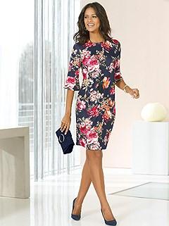 Antique Floral Print Dress product image (407110.MU.5.1)