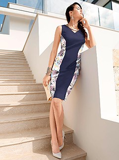 Slimming Shift Dress product image (407502)