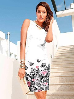 Floral V-Neck Dress product image (407503.WHPR.2)