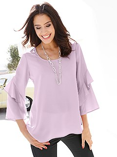 Trumpet Sleeve Blouse product image (407858.RS.1)
