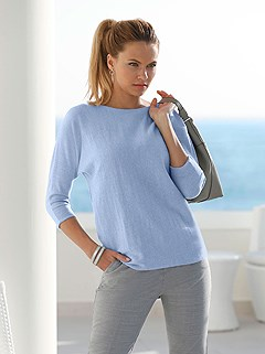 Boat Neckline Sweater product image (409259.LB.1.M)
