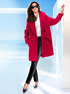 Wool Blend Coat product image (414698.RD.2.6)