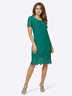 Lace Accent Dress product image (416904.EDGR.4.2_WithBackground)