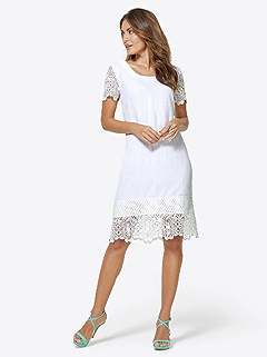 Lace Accent Dress product image (416904.WH.3.2_WithBackground)