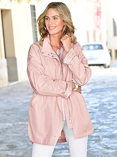 Lightweight Ruffled Sleeve Long Jacket product image (417467.OLRS.1.1_WithBackground)