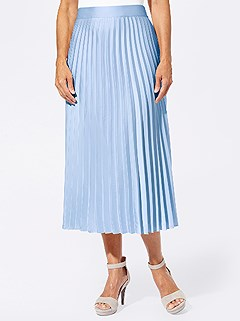 Flowing Pleated Midi Skirt product image (417573.LB.4.51_WithBackground)