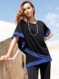 Contrasting Hem Layered Look Top product image (417619.BKRY.2.291_WithBackground)