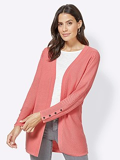 Ribbed Long Cardigan product image (417711.CO.3.1_WithBackground)