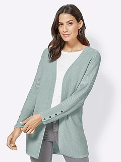 Ribbed Long Cardigan product image (417711.MT.3.1_WithBackground)
