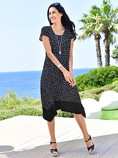 Polka Dot Jersey Dress product image (418045.WHPA.1.3_WithBackground)