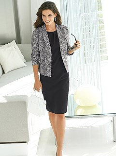 Snake Print Blazer product image (418082.BKWH.1.1_WithBackground)