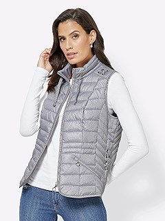 Quilted Fabric Vest product image (418098.GY.5.1_WithBackground)