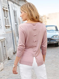 Back Bow Detail Sweater product image (418299.RS.1.1_WithBackground)
